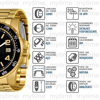 Relógio X-Games Masculino XMGS1030 P2KX