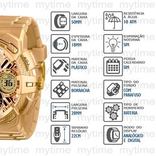 Relógio X-Games Masculino XMPPA186 CXKX