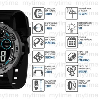 Relógio X-Games Masculino XMPPD637 PXPX
