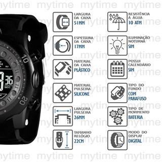 Relógio X-Games Masculino XMPPD642 PXPX