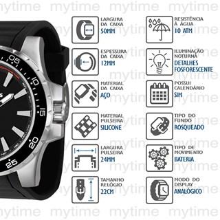 Relógio X-Games Masculino XMSP1015 P1PX