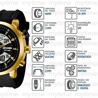 Relógio X-Games Masculino XMSPA018 P2PX