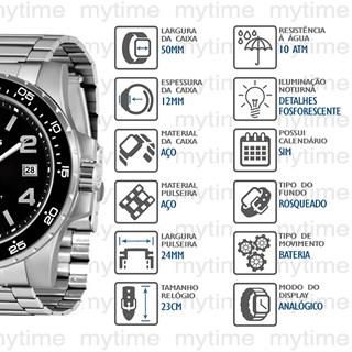 Relógio X-Games Masculino XMSS1046 P2SX