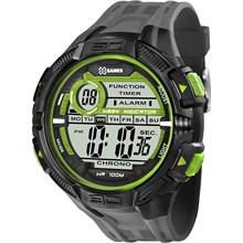 Relógio X-Games Xport Masculino Digital Cinza Verde XMPPD384