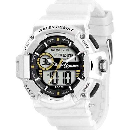 ed69aed114c Relógio X-Games Xtyle Masculino Anadigi Branco XMPPA150 - My Time